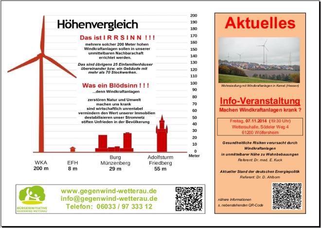 20141107 - Infoveranstaltung Gesundheitliche Risiken